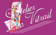 Logo de Sylvie Bonnaire Atelier Lilo Vitrail