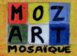 Logo de fabien boyer moz-art mosaique