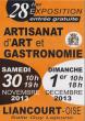 Salon d'Artisanat d'Art et Gastronomie de Liancourt (60)