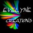 Logo de evelyne cauchebrais evelyne créations