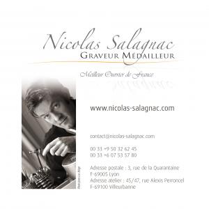 Logo de Nicolas SALAGNAC Graveur médailleur - Meilleur Ouvrier de France