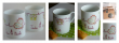 Des Mugs en Porcelaine peints pour l'association caritative