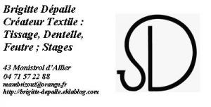Logo de Brigitte Delesques-Dépalle Brigitte Dépalle, créateur textile