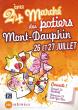 24ème Marché potier de Mont Dauphin