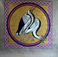 exposition de tapisseries enluminures , MOREAU jean-marie