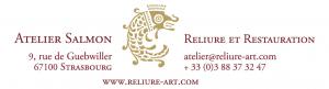 Logo de Reliure d'art Atelier Salmon