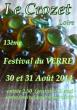 13ème Festival du Verre de Crozet