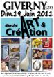 Salon Art et Création à GIVERNY