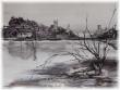 Stage Aquarelle en noir et blanc sur papier glacé