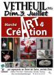 Salon ART et Création à Vétheuil (95)