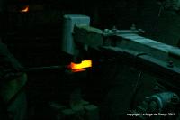 Salon du couteau à Vallorbe, en Suisse, , La forge de denys