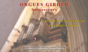 Logo de Jacques Nonnet ORGUES GIROUD Successeurs