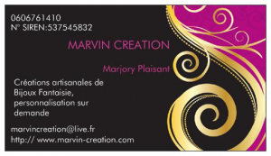 Logo de Marjory Plaisant Marvin Cr�ation