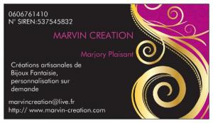 Logo de Marjory Plaisant Marvin Création