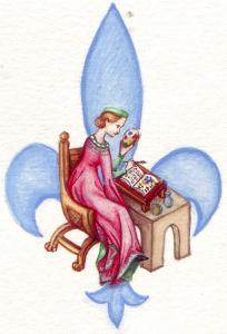 Logo de Claire Biteau-Guillemain Atelier d'enluminure