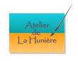 Logo de Agn�s GAILLARD-BORLET Atelier de la Huni�re