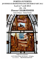 JOURNEES EUROPEENNES DES METIERS D'ART , CHABOISSIER Florent