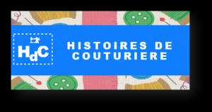 Logo de dominique leleu Histoires de couturière