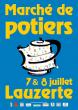 Marché de potiers de Lauzerte