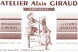 Logo de ATELIER Alain GIRAUD