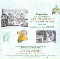 Actualité de RICHARD Gabriel Exposition Salle Nord du château - MAREUIL sur CHER à 18 h 30