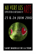 exposition/vente d'artisant d'art