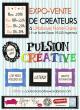 Pulsion Créative, marché de créateurs / ateliers DIY / Live music