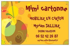 Logo de myriam sellier Mimi cartonne