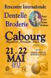 rencontre internationale de dentelle et broderie à Cabourg