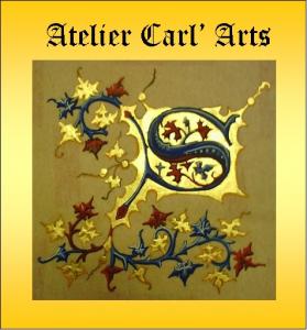 Logo de catherine carlier atelier carl arts