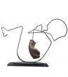 Logo de cecile Prost sculpteur plasticien