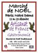 Marché de Noël authentique à Paris Notre Dame
