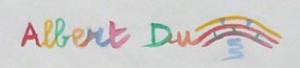 Logo de DuPont Albert