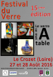 15éme Festival du verre du Crozet