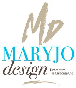 Logo de artisans d' art,bijoux en textiles,accessoires de mode , mode accessoires déco pour la maison,peinture  MARYJO DESIGN