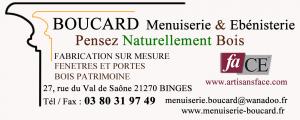Logo de   BOUCARD Menuiserie & Ebénisterie (S.A.R.L.)