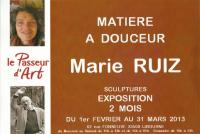 Actualité de Ruiz Marie Sculpteur MATIERE A DOUCEUR...