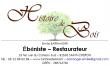 Logo de EMILIE BARRANGER HISTOIRE DE BOIS - EBENISTERIE