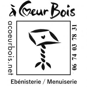 Logo de guy andries à coeur bois, ébénisterie