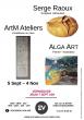 L'Escabeau Volant fait sa rentrée avec  ALGA ART, ArtM Ateliers et Serge Raoux