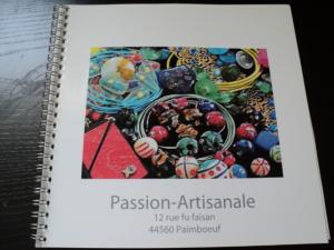 Logo de pascale ducreux Passion-artisanale