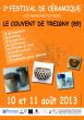 2ème festival de Céramiques du Couvent de TREIGNY (89)