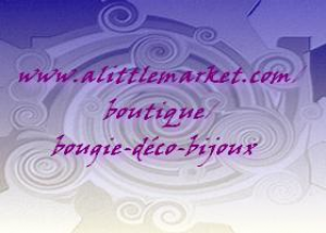 Logo de nathalie dewez Bougie-déco-bijoux