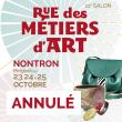 ANNULATION 11ème Salon Rue des Métiers d'Art à Nontron