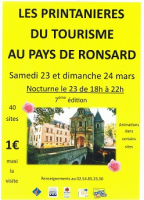 LES PRINTANIERES AU PAYS DE RONSARD , RICHARD Gabriel