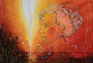 Logo de Blondel Patricia artiste peintre de l'eau