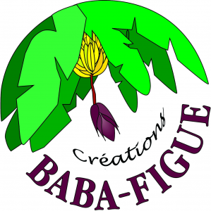 Logo de Cathy de Moussac Baba Figue Créations
