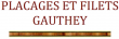 Logo de  gauthey indépendant