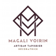 logo de Magali Voirin MV TAPISSERIE DECORATION