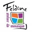 Logo de Delphine THOMIN Feldine atelier de mosa�que